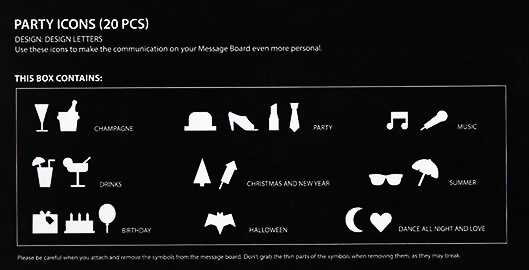 DESIGN LETTERS|留言板新符號ICON