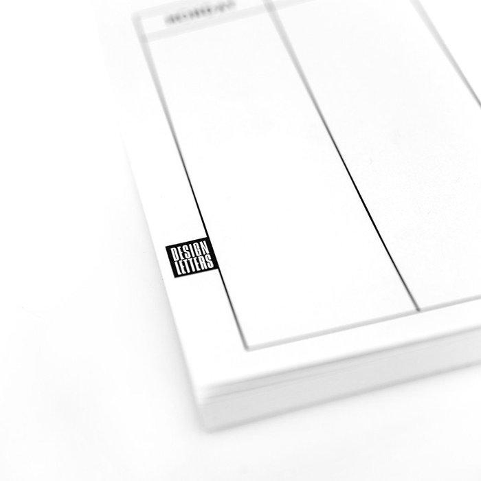 DESIGN LETTERS|週計畫本