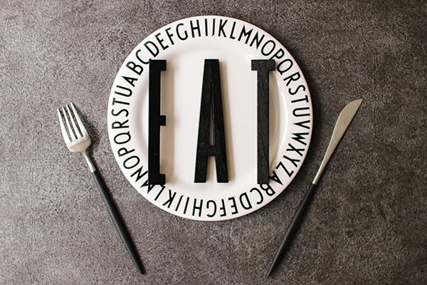 DESIGN LETTERS|黑色木字母A-Z