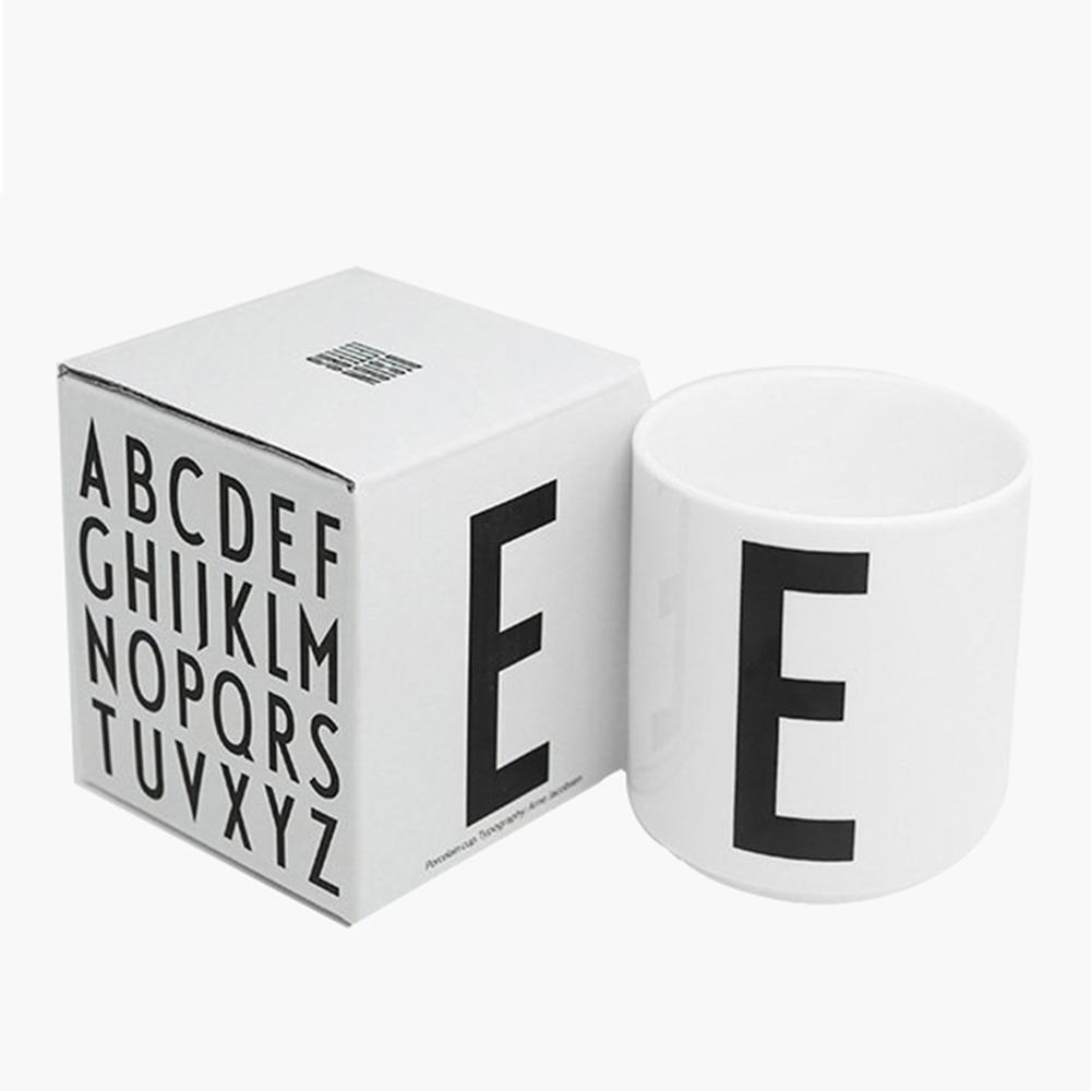 DESIGN LETTERS|A-Z骨瓷杯 - 單入