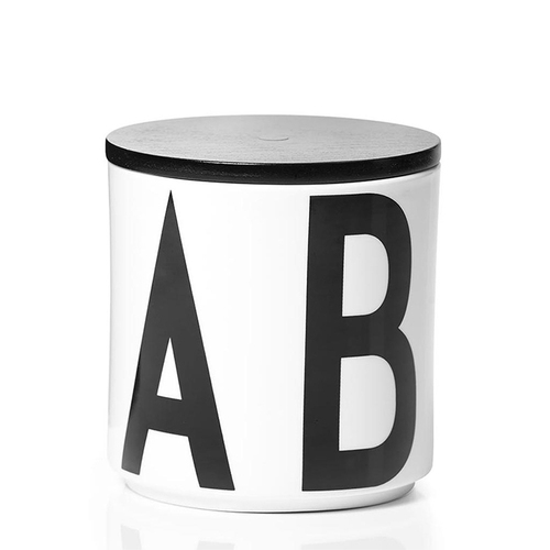DESIGN LETTERS|多功能儲物罐(黑蓋)