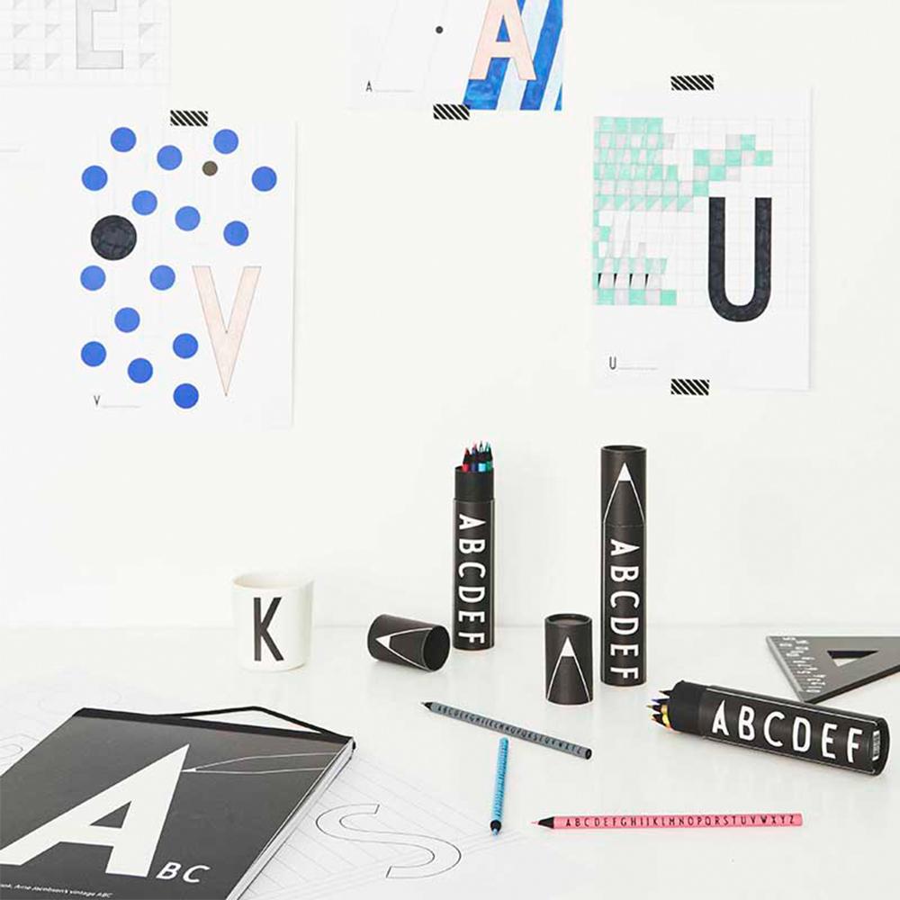 DESIGN LETTERS|字母色鉛筆15入/組