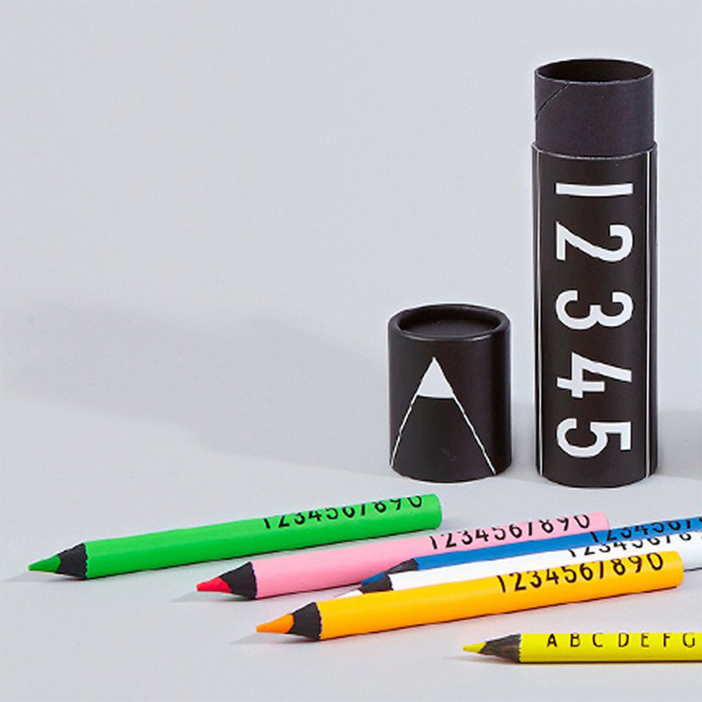 DESIGN LETTERS|兒童彩色鉛筆
