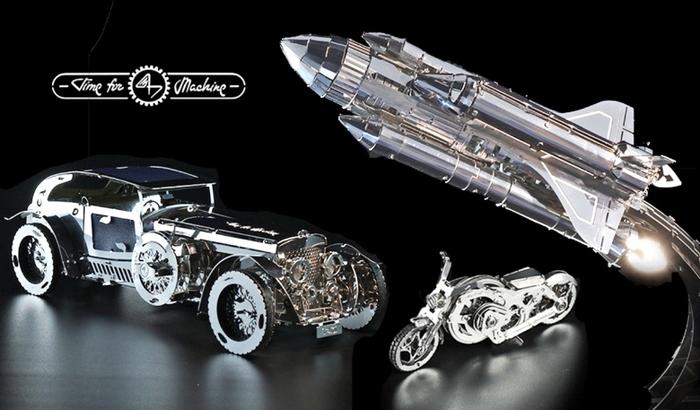 (複製)TimeforMachine|高階金屬動力模型 - 追星太空梭Starbreeze Explorer