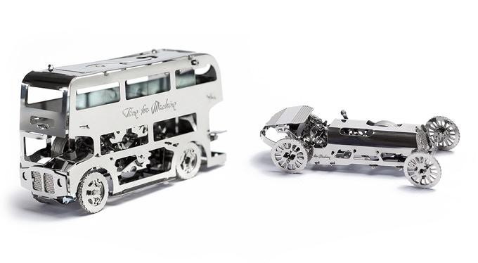 TimeforMachine|高階金屬動力模型 -  2021大車小車落玉盤套組 - All Vehicles Set