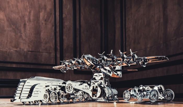 (複製)TimeforMachine|高階金屬動力模型 -  2021年7合一小滿貫套組 - T4M 2021 Series Set