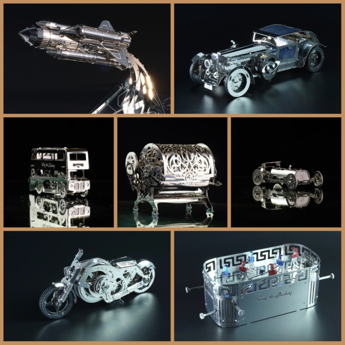 TimeforMachine|高階金屬動力模型 -  永遠經典全系列16款大滿貫套組 - T4M Classic Forever Full Series
