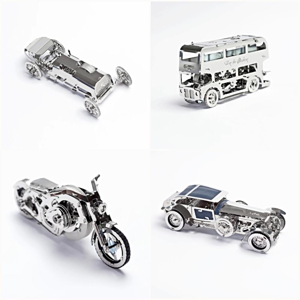 Time4Machine|高階金屬動力模型 -  2021大車小車落玉盤套組 - All Vehicles Set