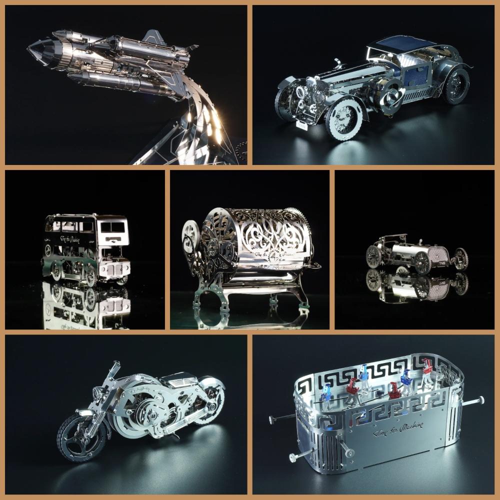Time4Machine|高階金屬動力模型 -  永遠經典全系列16款大滿貫套組 - T4M Classic Forever Full Series