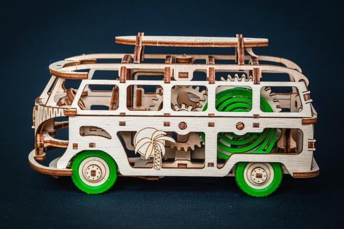 (複製)Time4Machine|繽紛動力木質系列–夢想露營車(蒂芬尼藍)