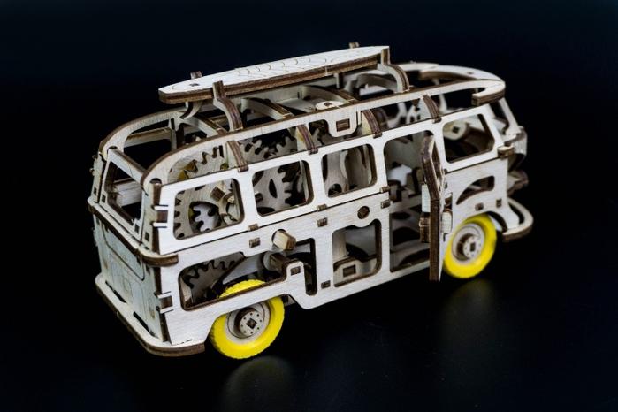 (複製)Time4Machine|繽紛動力木質系列–夢想露營車(碧海綠)