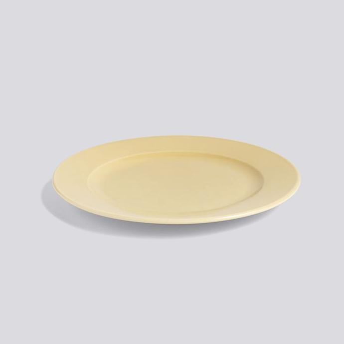 HAY | Rainbow Plate 瓷盤 / (Warm Yellow / 暖黃 ) (M)