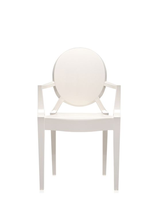 (複製)kartell|Louis Ghost/經典圓背扶手椅 (透明)