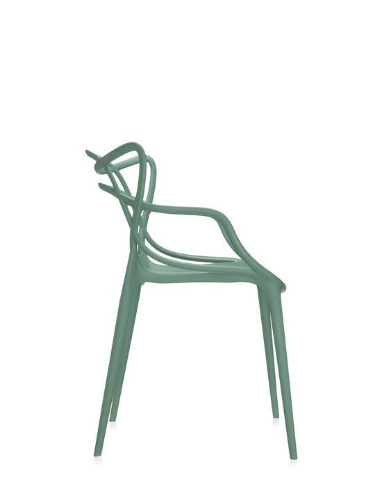 (複製)kartell|Louis Ghost/經典圓背扶手椅 (白色)