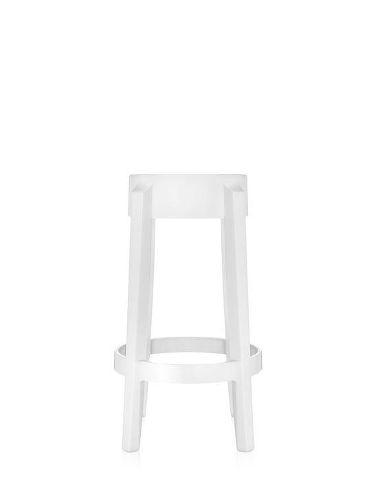 (複製)kartell|Charles Ghost Stool 65cm/查爾斯鬼魂系列 高腳椅 (黑色)