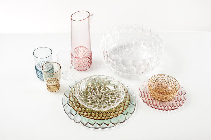 kartell|jellies water glass /透明塑料水杯-Crystal(透明)