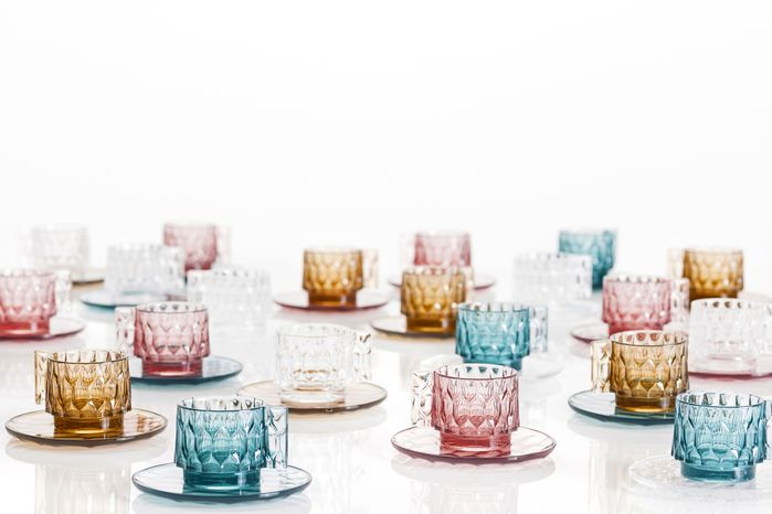 kartell|jellies coffee cup with saucer set/咖啡杯盤組 -pink(粉紅)