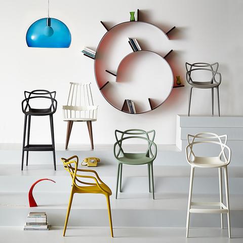 kartell|Masters Armchair/大師 扶手椅 (綠色)