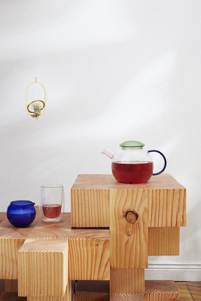 Fundamental Berlin|DOPPLER TEA GLASS (PINK) /多普勒茶玻璃 (粉色)