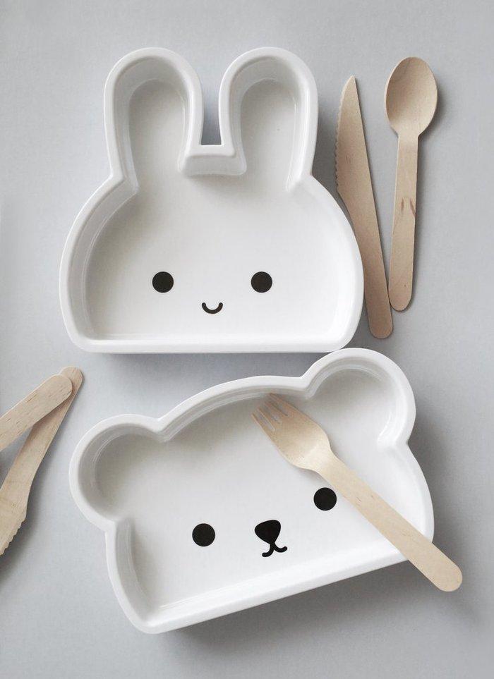 (複製)Bopomofo|Hoppi . Deep Plate/小兔深盤