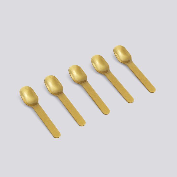 (複製)HAY | EVERYDAY / SPOON - 湯匙5入(GOLDEN / 金色)