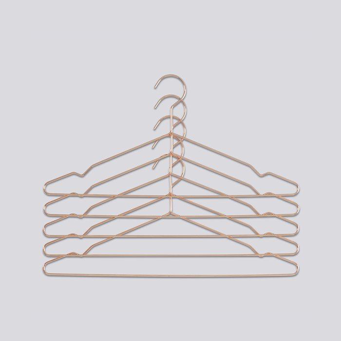 HAY | HANG 5 PCS COPPER -衣架5入-銅