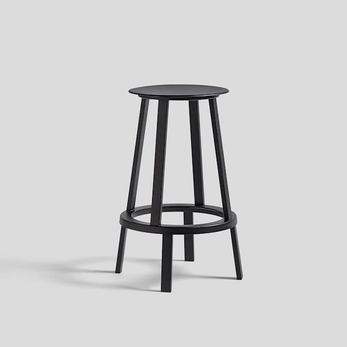 HAY |REVOLVER BAR STOOL LOW  / 轉轉吧台椅