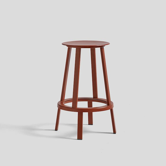 HAY |REVOLVER BAR STOOL LOW  / 轉轉吧台椅