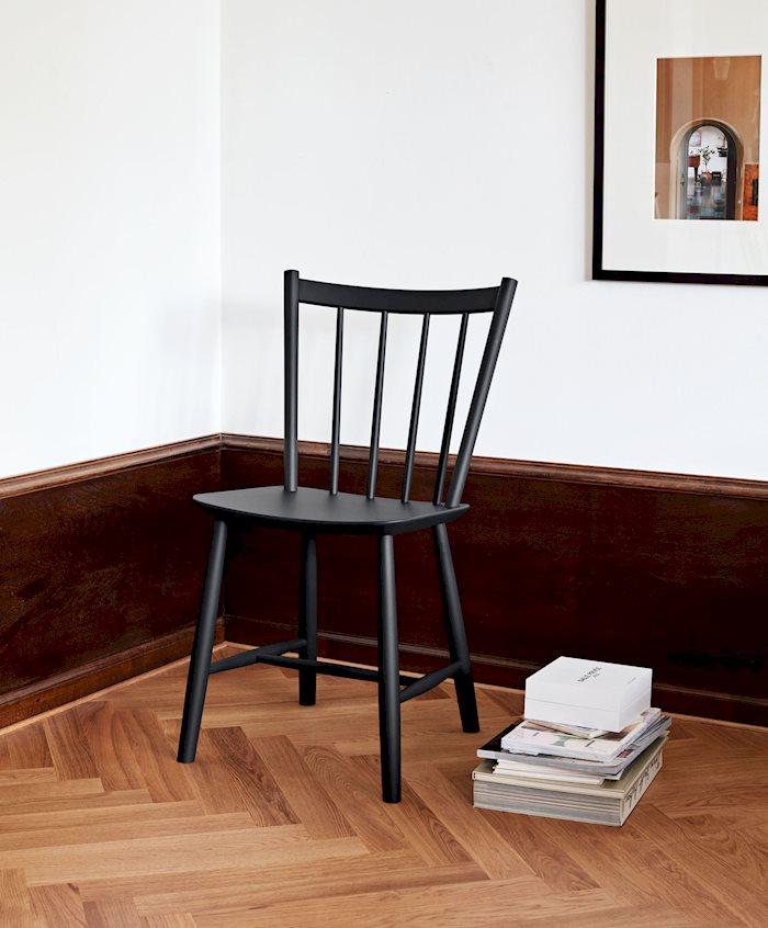 (複製)HAY |J42 CHAIR BLACK/ 扶手單椅
