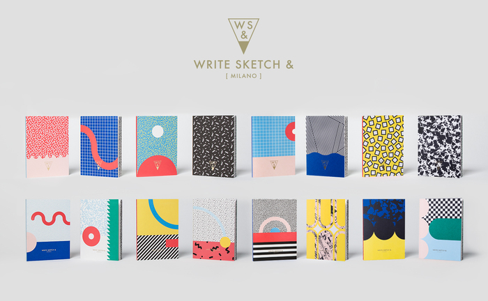Write Sketch & | SUPER SPOT NOTEBOOK/雙封面筆記本