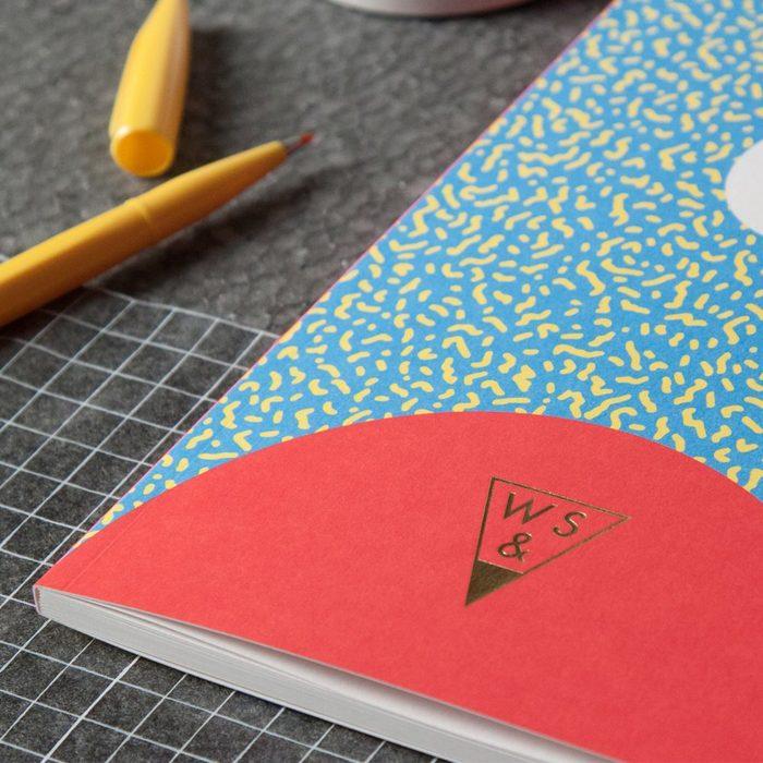(複製)(複製)(複製)(複製)Write Sketch & | SUPER SPOT NOTEBOOK/雙封面筆記本