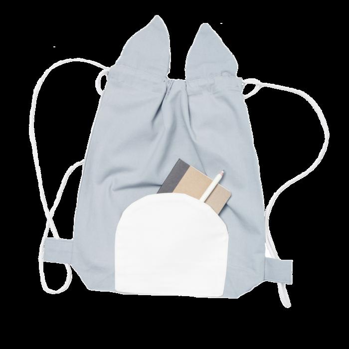 (複製)Fabelab l 小熊寶寶踏青去束口背包 Fabelab Animal Stringbag Lazy Bear