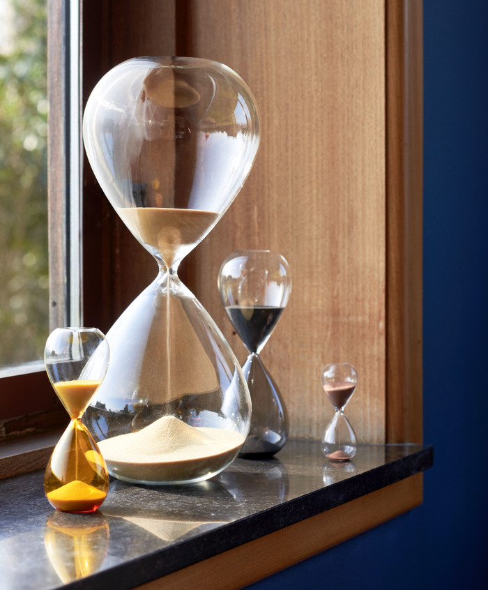 HAY | TIME / 2019 S 3 MINUTES LEMON YELLOW 黃色時光沙漏