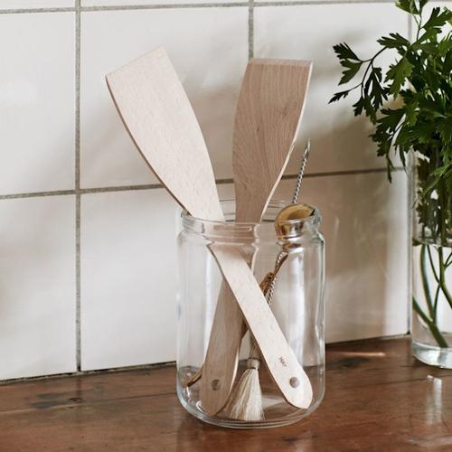 HAY l SPATULA UNTREATED 木製鍋鏟