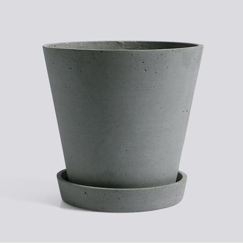 HAY l Flowerpot With Saucer / 墊盤花盆 (綠 / Green) (XL)