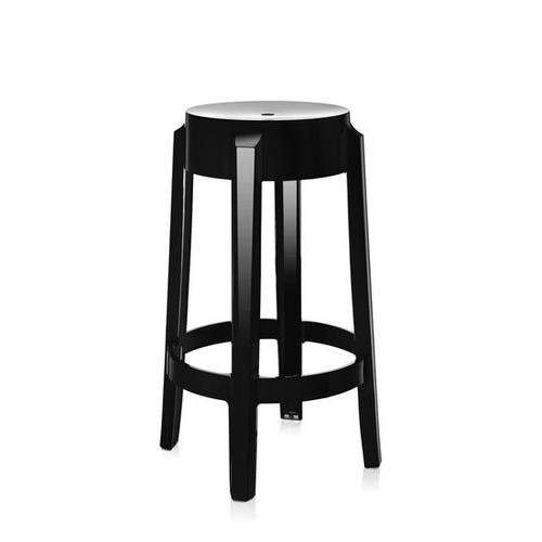 kartell Charles Ghost Stool 65cm/查爾斯鬼魂系列 高腳椅 (黑色)