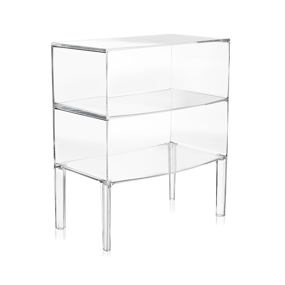 kartell|Ghost Buster Commode-Crystal (透明)
