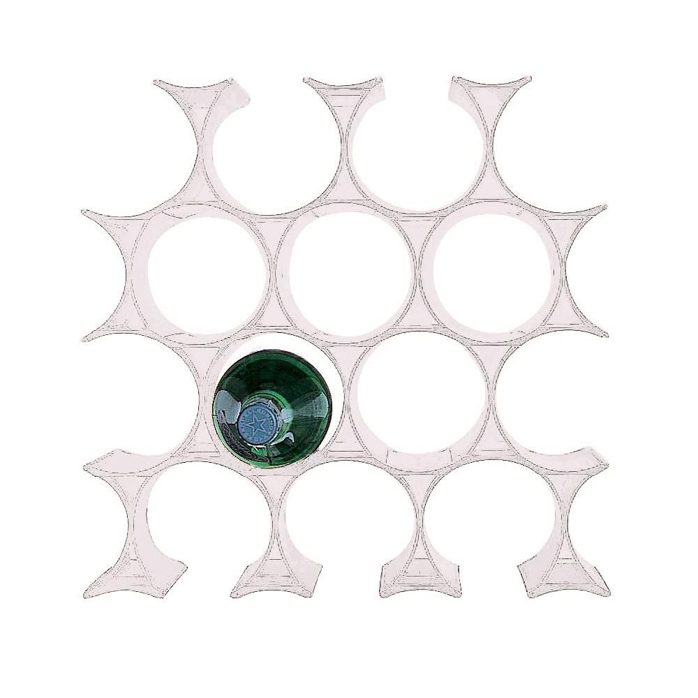 kartell infinity bottle rack/無限瓶架-White(白色)