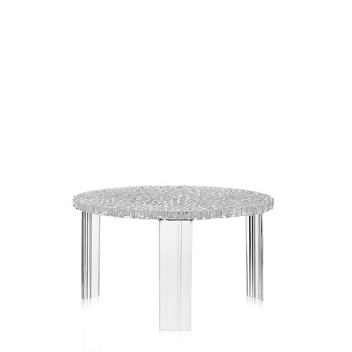 kartell|T table low/水晶低桌 -crystal(透明)