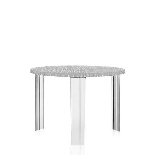 kartell|T-Table Medium/茶几 -crystal(透明)