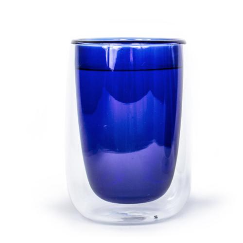 Fundamental Berlin|DOPPLER TEA GLASS (Blue ) /雙層玻璃杯(藍色)