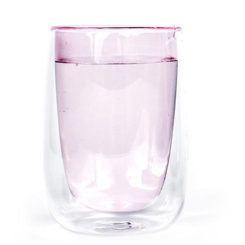 Fundamental Berlin|DOPPLER TEA GLASS (PINK) /雙層玻璃杯 (粉色)
