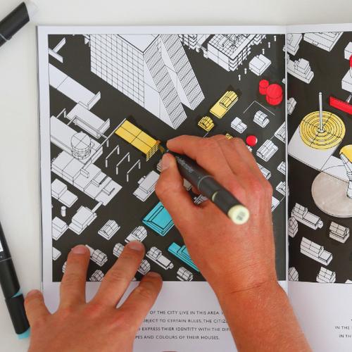 Fundamental Berlin|Adult Coloring Book/成人著色書