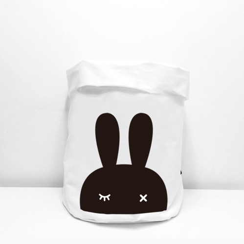 Bopomofo|Fabric Storage Bag . Bunny / 布料收納袋。兔子