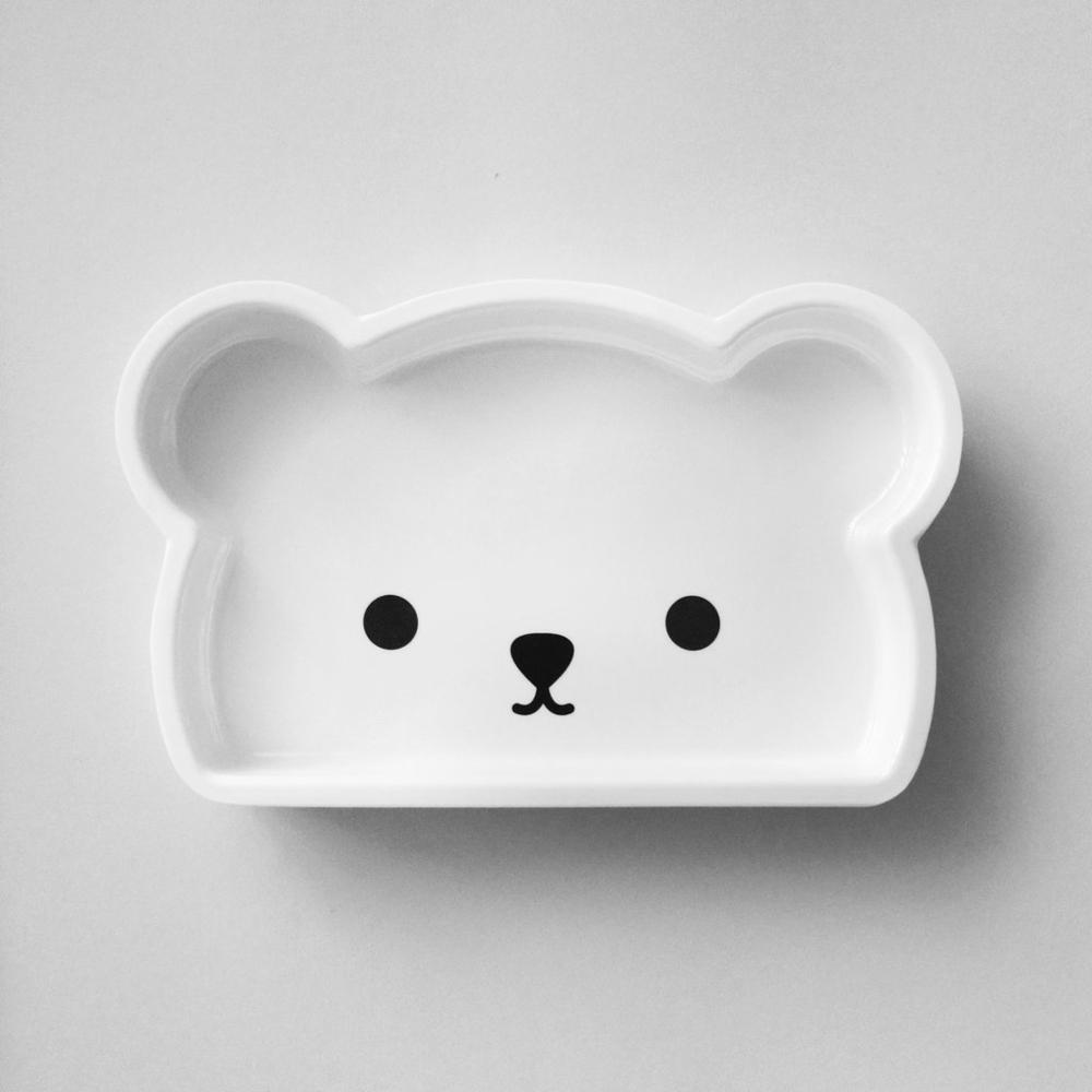 Bopomofo|Petite Bear . Deep Plate/小熊深盤