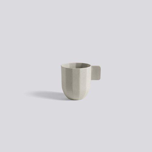 HAY | PAPER PORCELAIN COFFEE CUP LIGHT GREY-紙摺 / 咖啡杯(不含盤子)