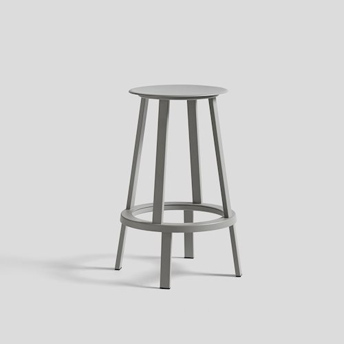 HAY|REVOLVER BAR STOOL LOW/ 轉轉吧台椅65cm