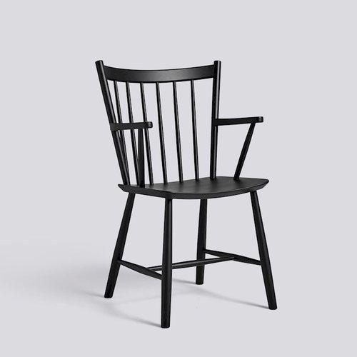 HAY|J42 CHAIR BLACK/ 扶手單椅
