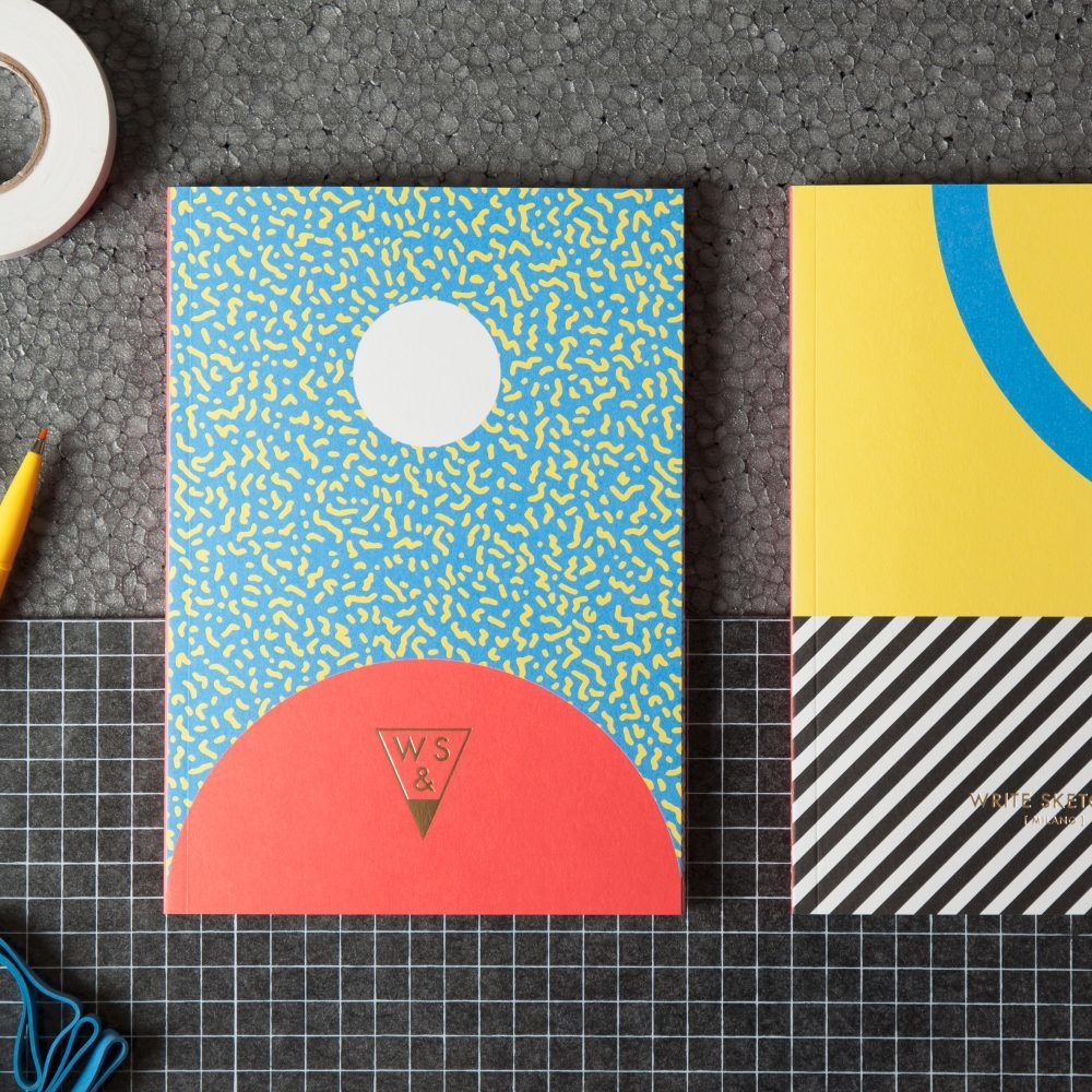 Write Sketch & | SUPER FALL NOTEBOOK/雙封面筆記本