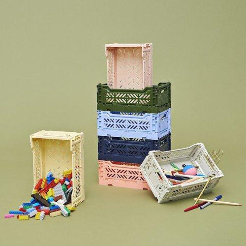 HAY l COLOUR CRATE S / 塑料折疊籃